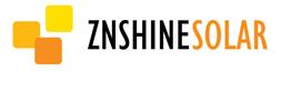 logo amarillo escrito znshine solar